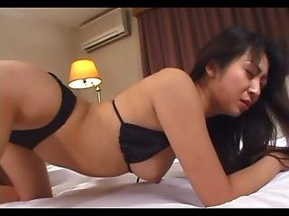 Avmost.com - Gorgeous Japanese Babe Gets Nasty With Her Man S Stiff Cock
