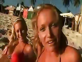 Naughty Teen Girls Get Fucked On Beach