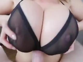 amateur, gros téton, anglaise, entretien, bite, nique, milf, star du porno, branlette espagnole
