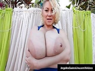 Phat Bbws Angelina Castro And Friends Suck Big Black Cock