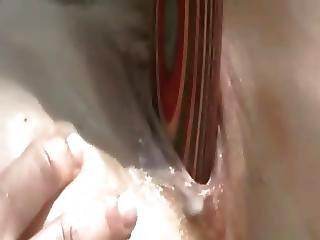Very Horny Chubby Teen Masturbating Her Pussy Outdoors