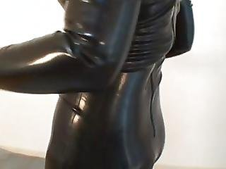 Japanese Latex Catsuit 05