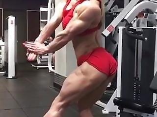 Ripped Hard Sexy Muscle Girl