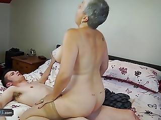 Envelhecida, Broche, Foder, Avózinha, Madura, Velha, Nova