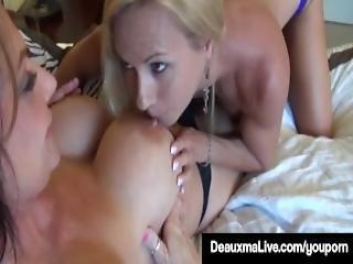 Horny Milf Deauxma Brooke Tyler Pussy Pleasure Each Other