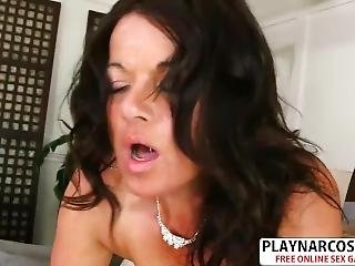 Old Not Step Mom Betty Boobs Gives Blowjob Well Young Step Son