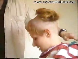 Blonde Extreme Headshave