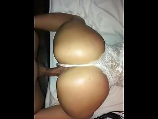 Doggystyling My Gf Big Butt