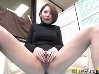 asiatisk, fetish, gulv, japansk, onanering, tisse, tiss, tissing, fitte, dusj, sport, voyeur, vannsport