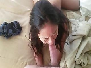 4 8 Petite Asian Teen Wrestling Then Sucking And Fucking