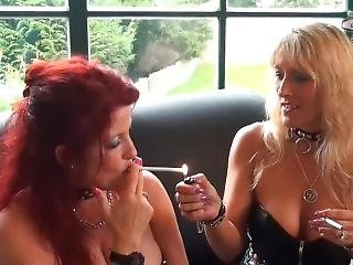 2 Sexy Sluts Smoking 120s