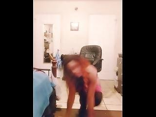 Sexy Pink Thong Video Fast Motion