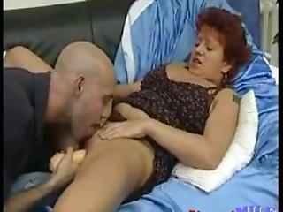 Redhead Mature Banged