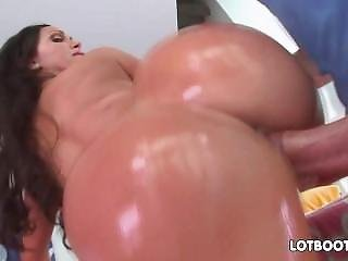 Lewd Juicy Bum Brunette Milf Nikki Benz With Huge Tits