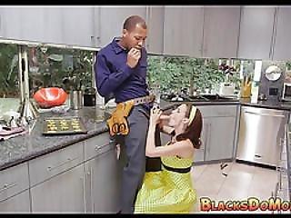 Housewife Fulfills Her Needs