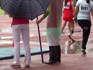 Amputee Hopping Long Jump