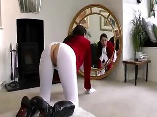 Mature Horse Rider British Hoe