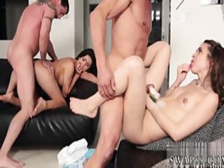 Teen With Nice Tits And Ass Fucked In First Porn Prom Night