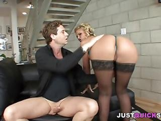 Bootylicious Blonde Doll Having A Hot Fuck