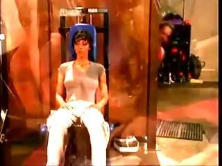 Kim Chambers Lesbian Locker Room Scene