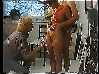 Argentina, Body Paint, Cumshot, Doggystyle, Pain, Threesome, Vintage