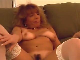 Mature Nude Smoking Cigar