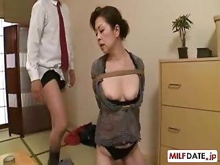 Japanese Grandma Love To Be Bound