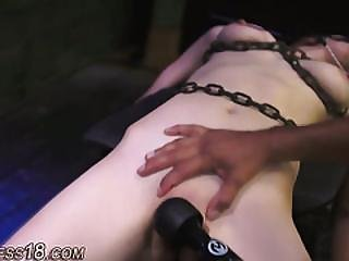 Chained Teen Gets Facial