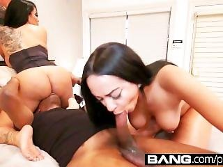 Bang.com: Horny Mothers Teach Daughters How To Fuck