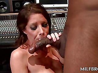 Milf Turns Into A Dirty Hoe With A Black Cock