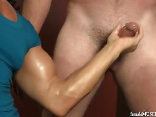 Lucky Dude Gets Some Action From A Fbb
