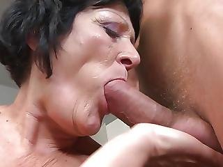 Grannies And Moms Suck And Fuck Young Boys