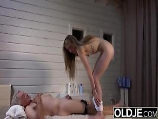 Young Pussy Massage The Teen Wants Dick To Suck And Swallow