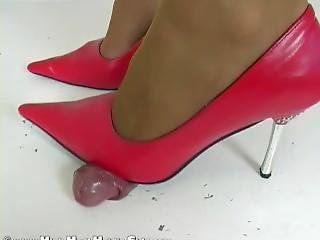 Hhh Cock Trample In High Heels Part 1 (part 2 In Privat)