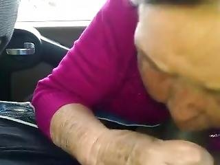 Super Ugly Old Bitch Sucks Great Dick