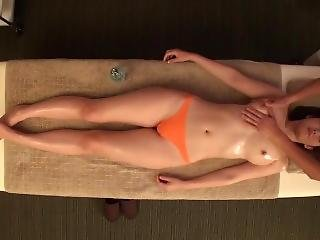 asiat, stort bryst, japansk, massage, milf