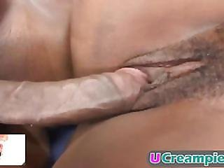 Amazing Black Babes Get Fucked And Filled With Jizz!