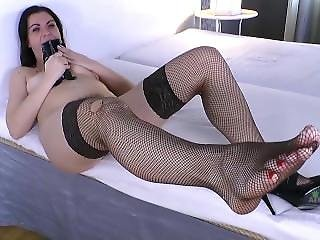 Fishnet Foot Fetish