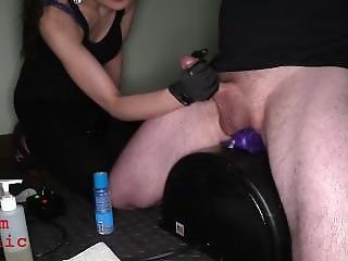 Glove Handjob Milking Cc111