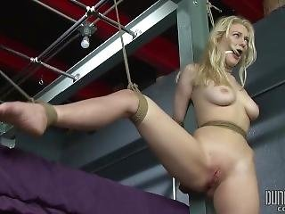 Suspended Alli Rae - Bdsm - Multiple Orgasms - Perfectslave, Dungeoncorp