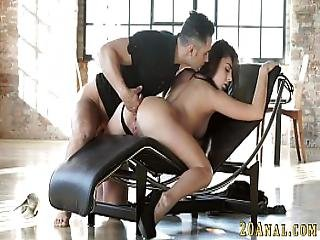 Big Ass Babe Anal Fucked
