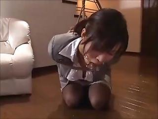 Roped Japanese Ol Drooling
