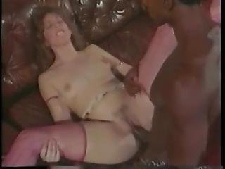 Retro Interracial Hot Fuck