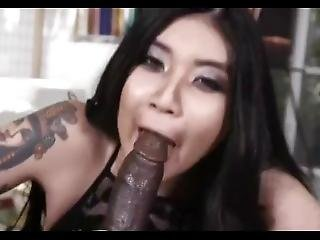 Asian Chokes On A Huge Bbc While Giving Head2