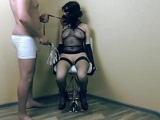 Bondage Screaming Orgasm Torture With Ohmibod And Lovense Lush Vibrators