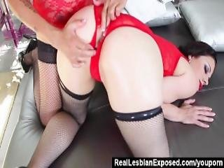 Reallesbianexposed Lesbian Anal Adventures