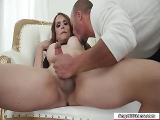 Busty Latina Ts Sophia Sanders Hooks Up With A Guy Sucks Her Big Cock And Then Later On,they Take Turns Fucking Each Others Ass