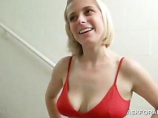 Ass Fingering In Public With Blondie