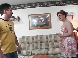 Smoking Stepmom Gets Fucked