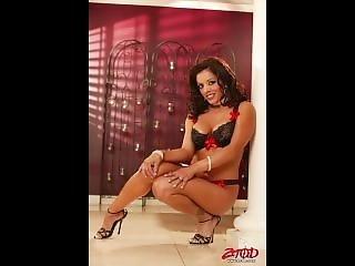 Francesca Le Milf Big Tit Porn Star Photo Montage Posing Music Video
